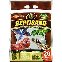Zoo Med Repti Sand Desert White, 40-Pound, 2 X 20-Pound Bags