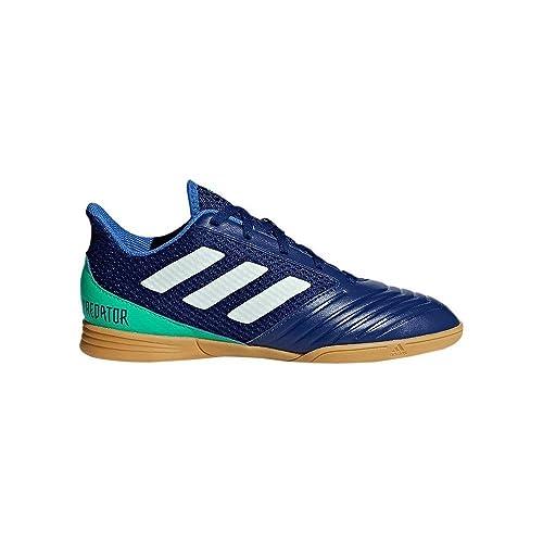adidas Predator Tango 18.4 Sala Niño, Zapatilla de fútbol Sala, Unity Ink-Aero Green-Hi-Res Green: Amazon.es: Zapatos y complementos