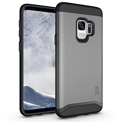Amazon.com: Samsung Galaxy S9 Funda, TUDIA Slim-Fit Heavy ...