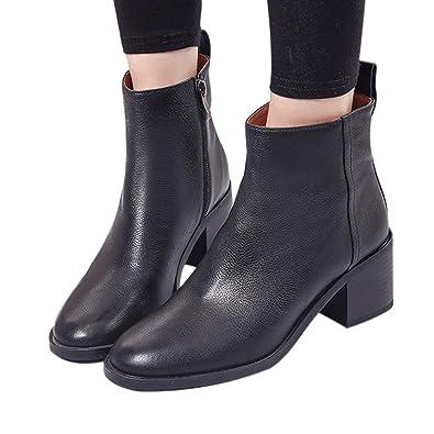 Shoes Damen Stiefeletten Forh Casual Mittelstiefel Frauen 80wPXOnk
