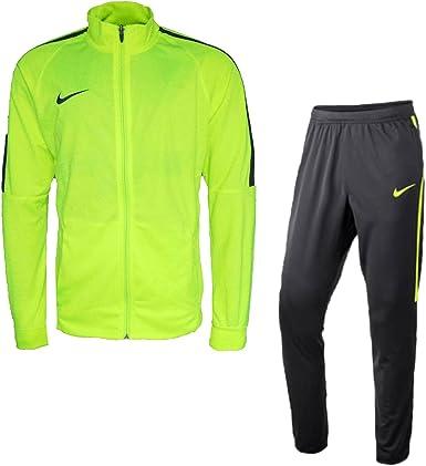 Desconocido Nike M Nk Dry TRK Suit Sqd K Chándal, Hombre: Amazon ...