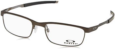 263984dd91 Oakley Glasses Frames Steel Plate OX3222-02 Powder Cement  Amazon.ca ...