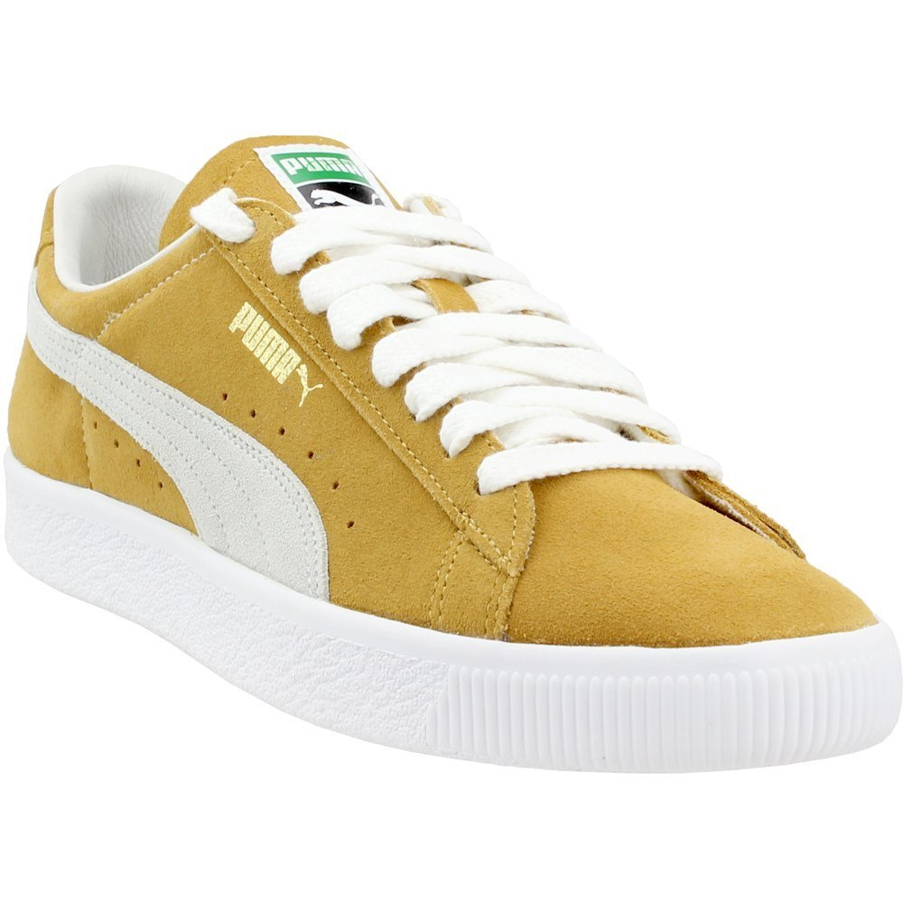 PUMA Men Suede - 90th Anniversary Yellow Mustard White Size 12.0 US