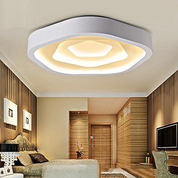 WQRTT® Deckenlampe Rose Förmige LED Acryl 3 Farbe Romantische Dekoration  Wohnzimmer Schlafzimmer LED