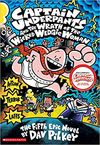 Image result for captain underpants and the wicked wedgie woman