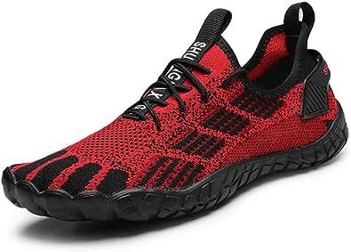 XIDISO Mens Minimalist Barefoot Trail Running Shoes Womens Wide Toe Cross Training Gym Walking Hiking Shoe Athletic Sneakers