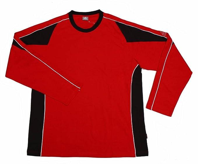 Peak Sport Europe TA11 - Sudadera para hombre rojo rojo/negro Talla:large