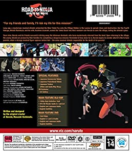 Naruto Shippuden Road to Ninja the Movie 6 Combo Pack (Blu-ray + DVD) by WarnerBrothers