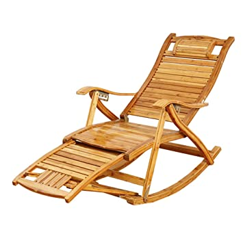 JHUEN Silla de jardín reclinable Silla reclinable al Aire ...