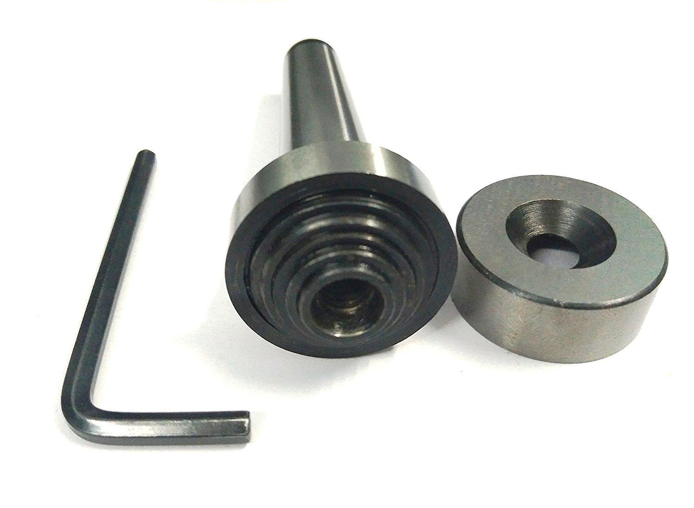 Precision Slitting Saw Holder Arbor MT-3 Shank For Slit Discs Milling Lathe Tools-M12 x 1.75 Drawbar