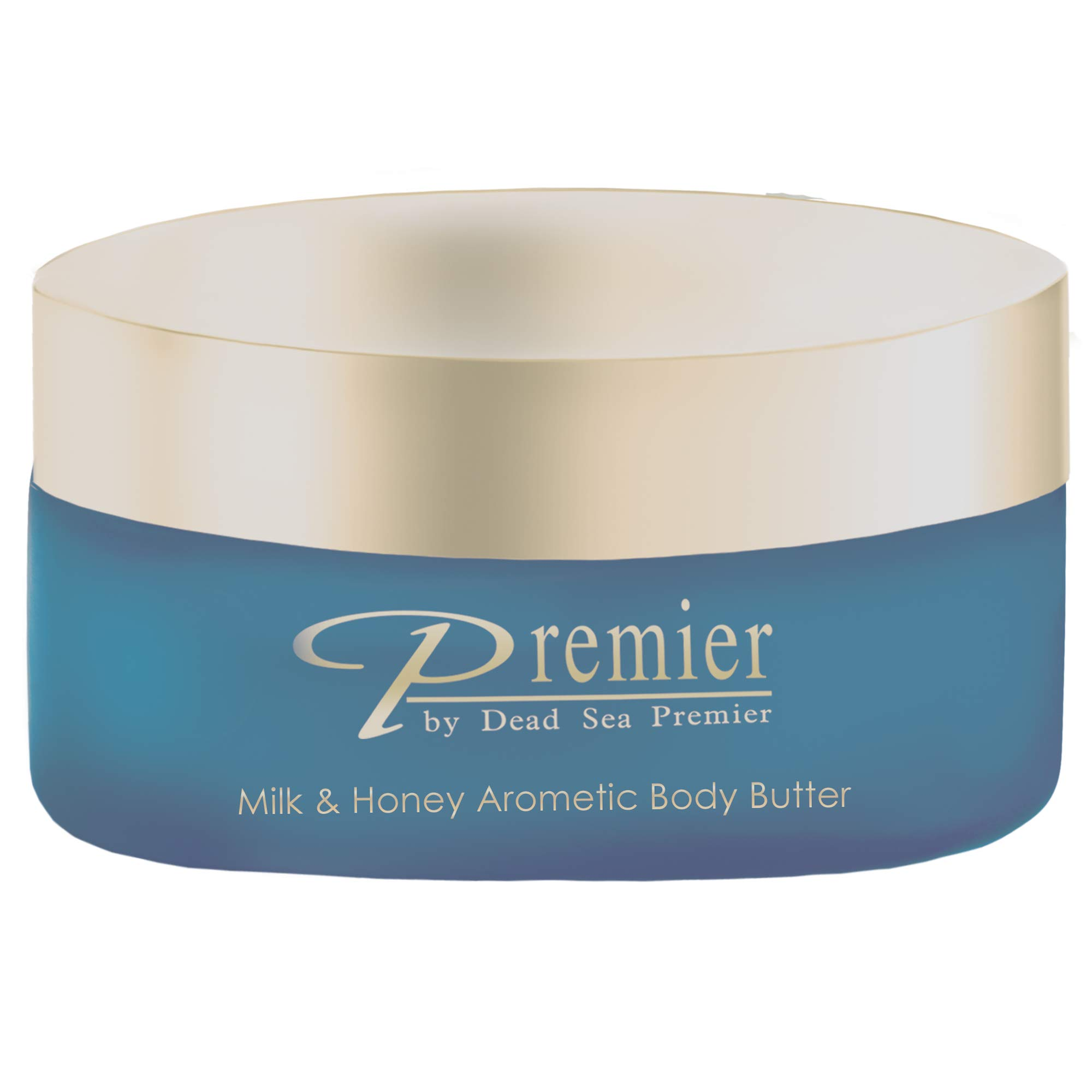 Premier Dead Sea Aromatic Body Butter- Milk and Honey, 175ml