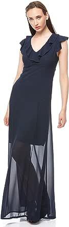 Wal G Peplum Dress For Women, Navy
