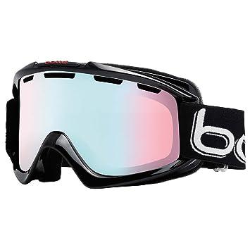 2515264740 Bollé Nova - Gafas de esquí, Unisex, Color Shiny Black and Blue, tamaño  M-L: Amazon.es: Deportes y aire libre