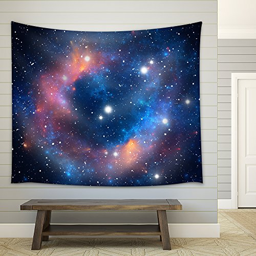 Colorful Space Star Nebula Fabric Wall