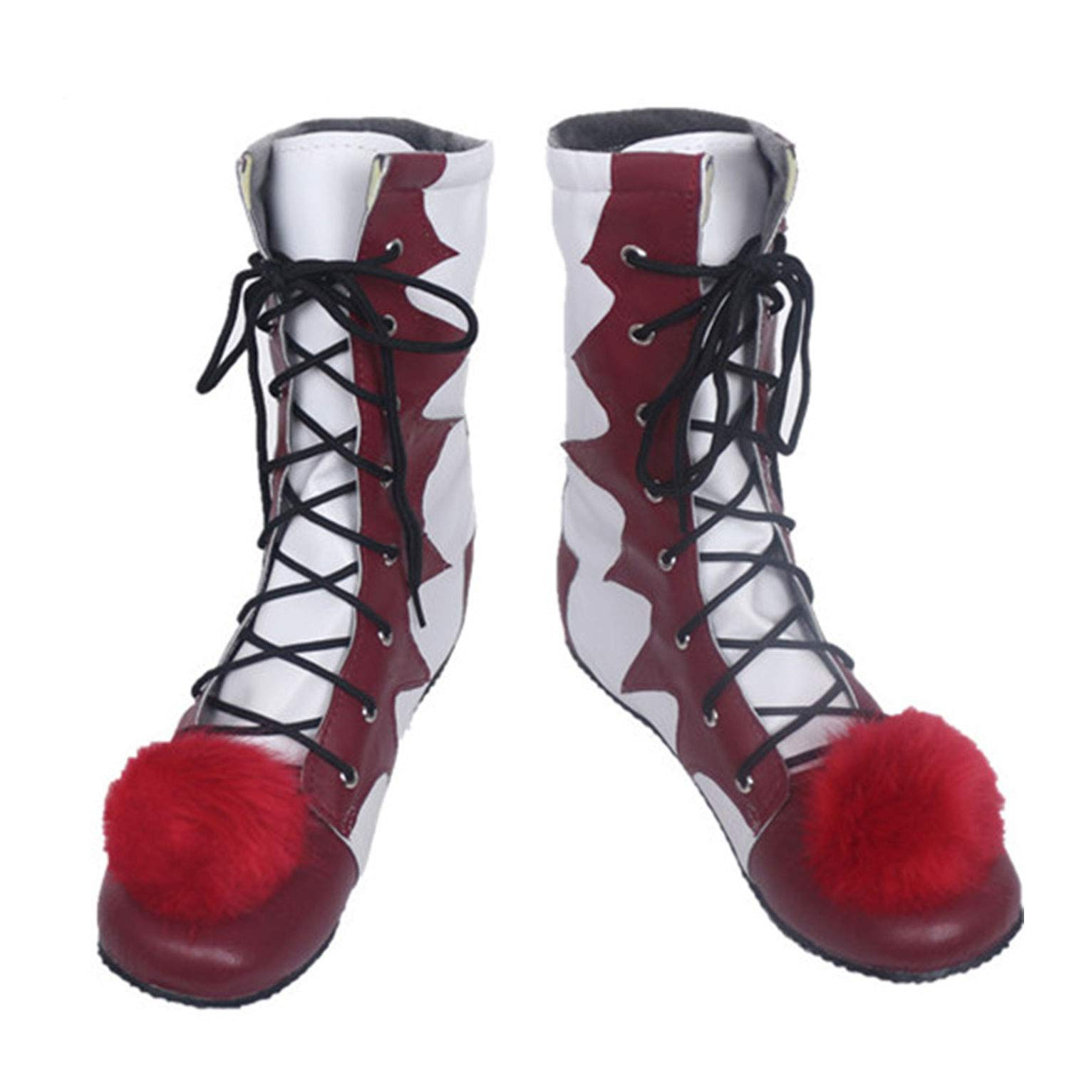 Yohuiya Stephen Kings It Pennywise Cosplay Shoes and Mask Horrible Clown Boots Custom Halloween Christmas Party Accessories