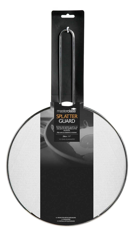 MasterClass Stainless Steel Splatter Guard, 29 cm (11