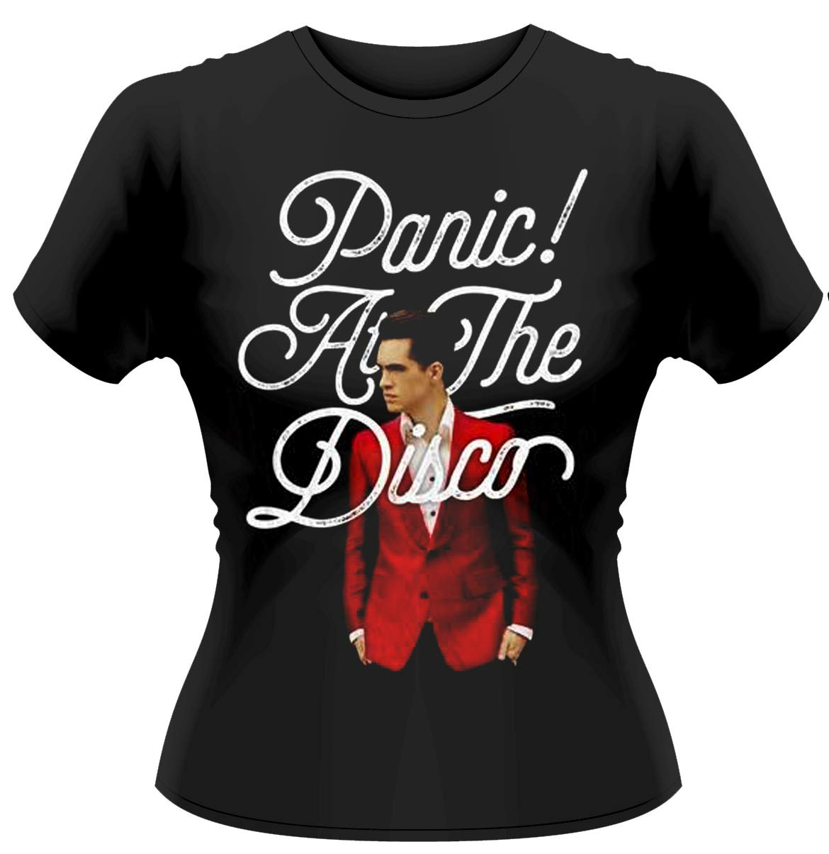 Panic at the Disco 'Brendon Urie' Womens Fitted T-Shirt