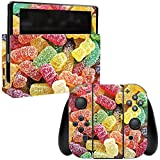 MightySkins Skin For Nintendo Switch - Sour Candy | Protective, Durable, and Unique Vinyl Decal wrap cover | Easy To Apply, Remove, and Change Styles | Made in the USA