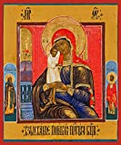 Mother of God ''Seeker of the Lost'' Traditional Panel Russian Orthodox icon