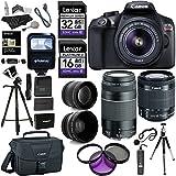 Canon EOS Rebel T6 DSLR Camera Kit (New Model for T5), EFS 18-55mm, EF ...
