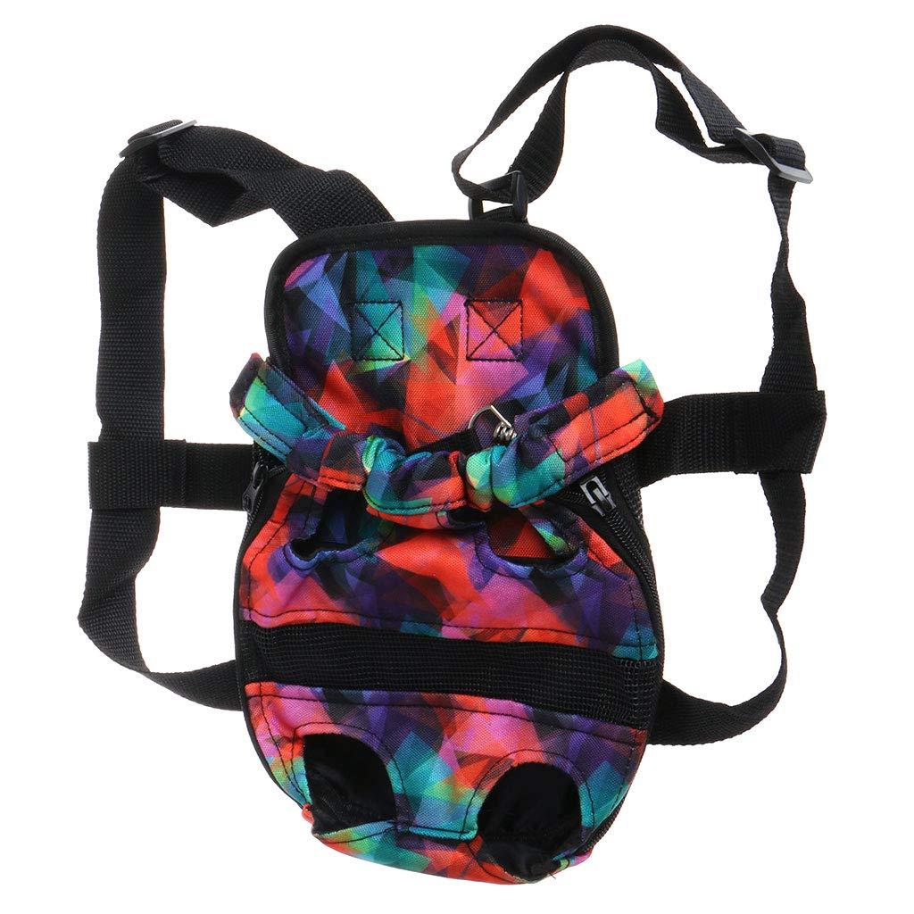 Kimnny Pet Dog Shoulder Bag Pet Dog Backpack Carrier Puppy Pouch Dog Front Bag Back Pack Legs Out 1# S
