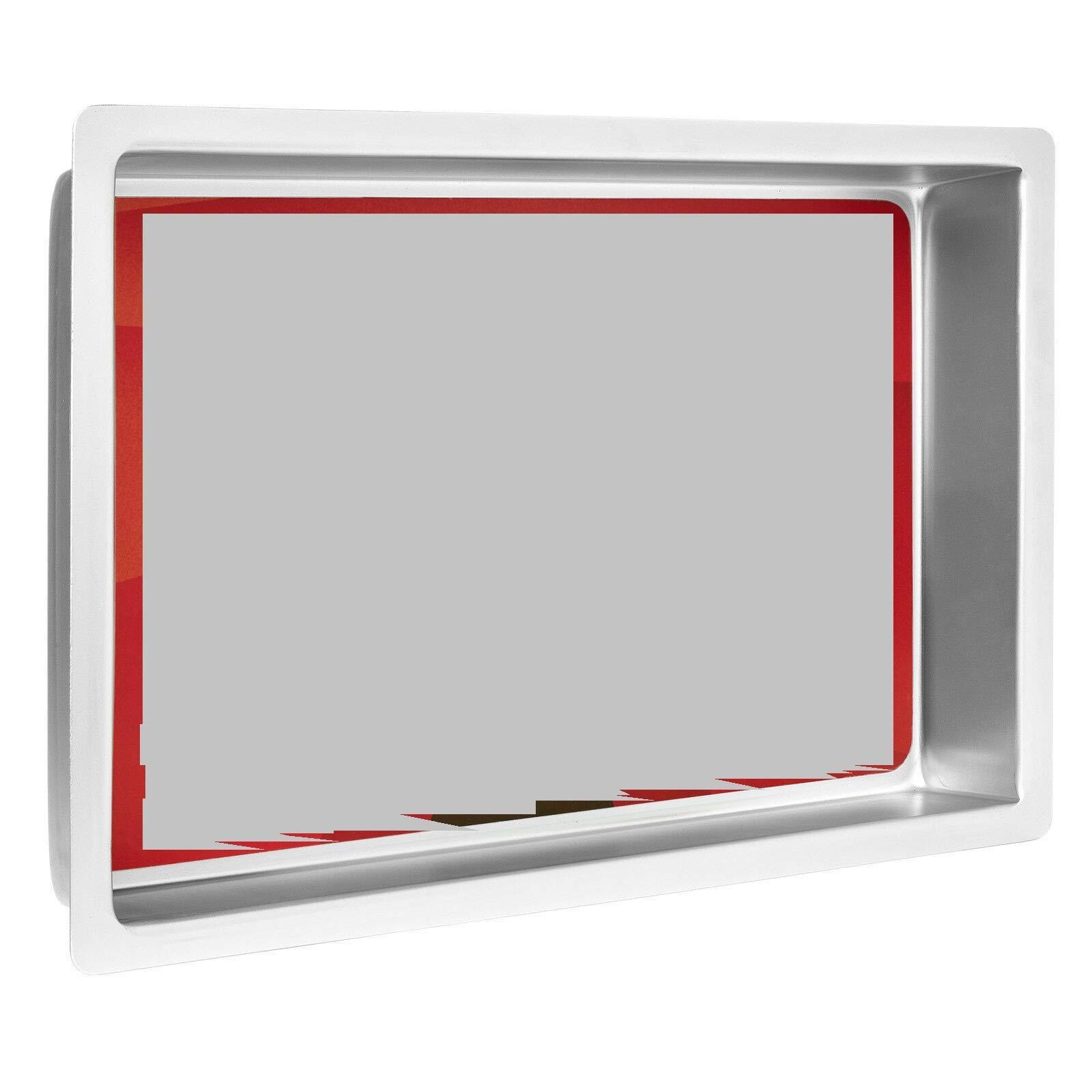 1 Pcs Professional Rectangular Aluminum Sheet Cake Pan 9 x 13 x 2 Inch #MWMN