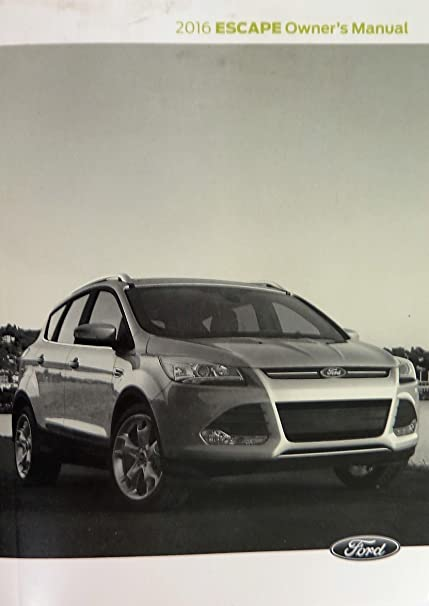 Ford Escape Owners Manual Guide Book