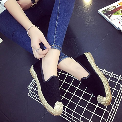 Sandals on Summer Women,Farjing Fashion For Holiday Flat Clearance nbsp; Slip Womens Shoes Espadrilles Sale Black Shoes Shoes qPw64