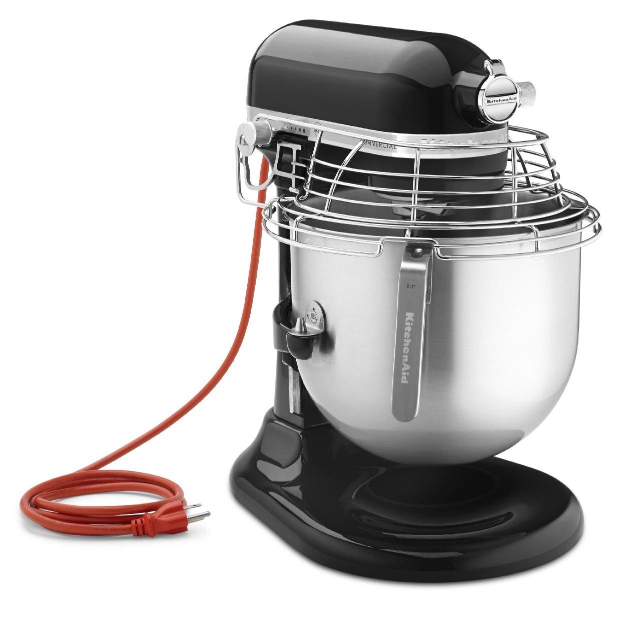 Amazon.com: KitchenAid (KSMC895OB) 8-Quart Stand Mixer with Bowl ...