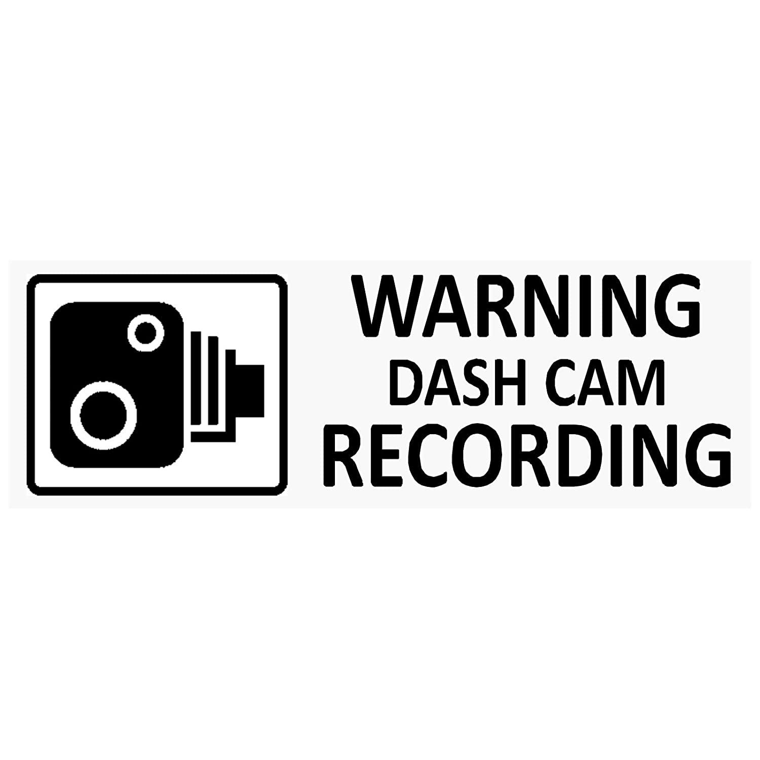 5  x schwarz ACHTUNG Dash Cam recording-30  X 87  MM Fenster stickers-vehicle Kamera Sicherheit Warnung Dash Cam signs-cctv, Auto, Van, Truck, Taxi, Mini, CAB, Bus, Coach Platinum Place