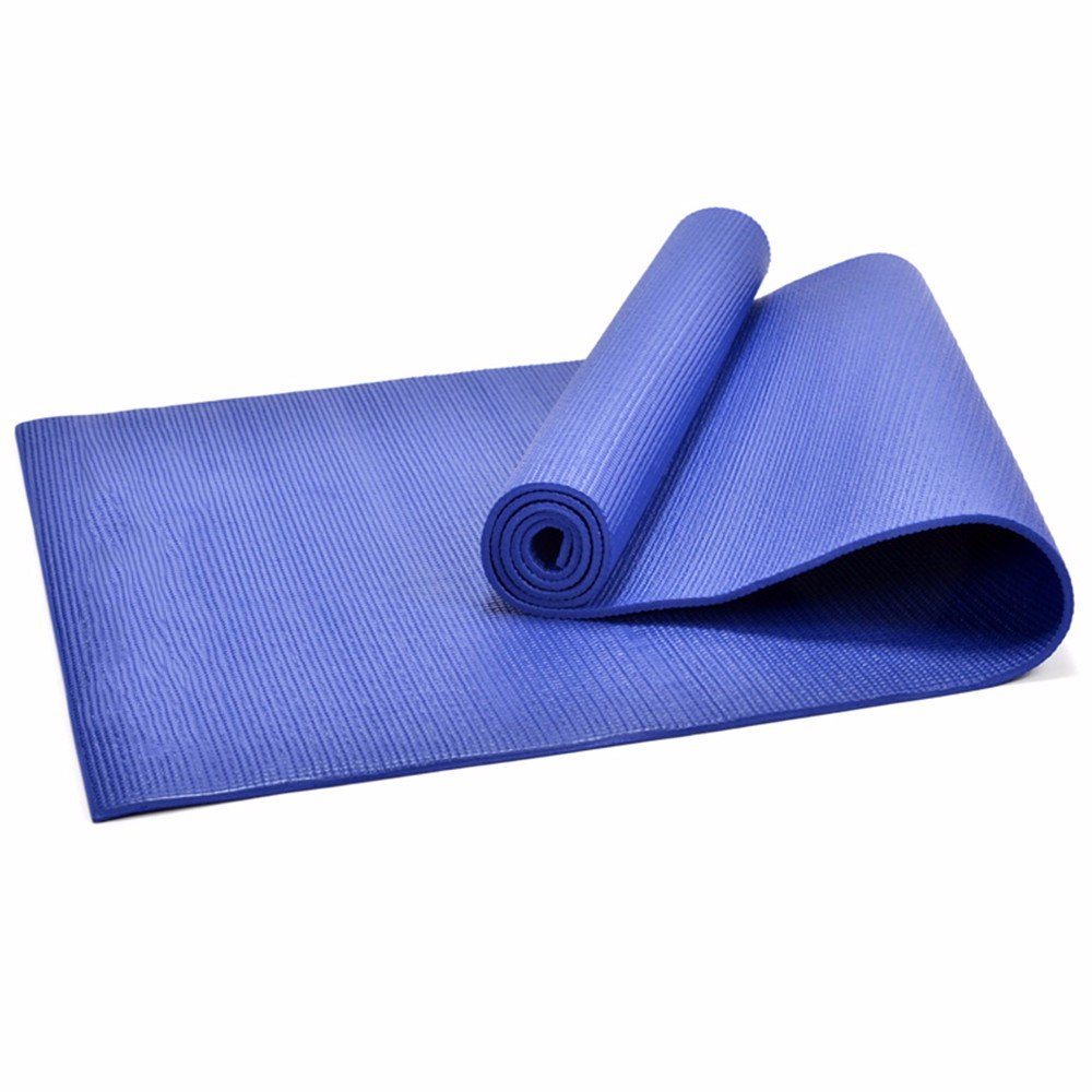Sly982h Yoga Mat Fitness Pad Halter 173Cm  61 cm  6 mm Men Stollen