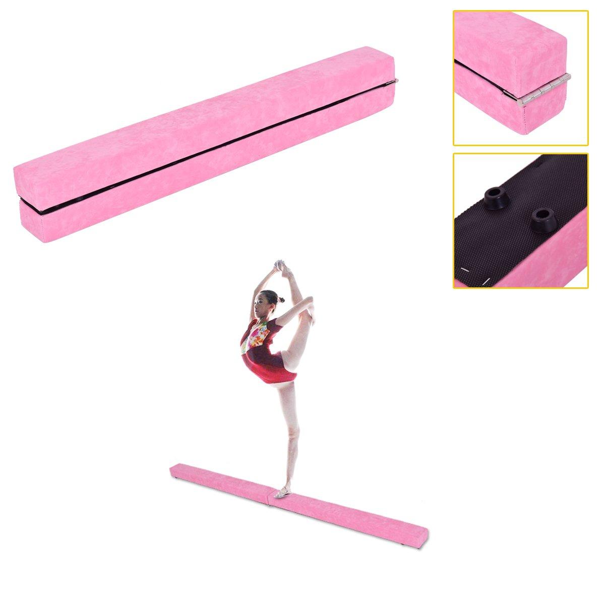 2,1 m Poutre d'équilibre pliable Gymnastique sectionnelle Compétence Performance Entraînement