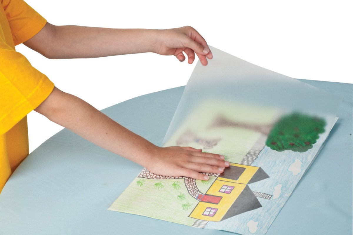 Con-Tact Brand Clear Covering Self-Adhesive Semi-Transparent Privacy Film and Contact Paper Liner, 18'' x 60', Clear Matte