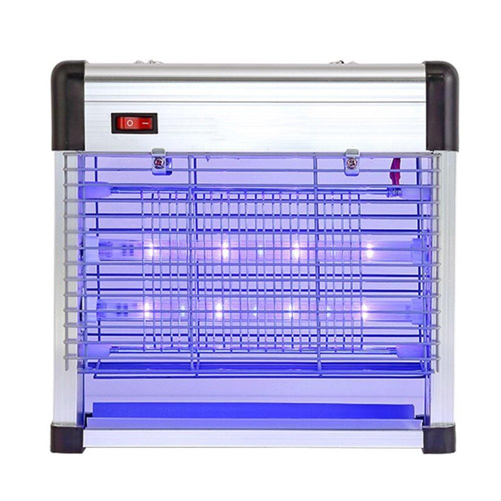 WUFENG 蚊ランプ 電気ショックタイプ LEDライト ランプを殺す 無放射線 環境を守ること 忌避剤 アーティファクト レストラン 商業の 屋内 (色 : 白, サイズ さいず : 26.6x8.8x25.8cm) B07CYWWGLD 26.6x8.8x25.8cm|白 白 26.6x8.8x25.8cm