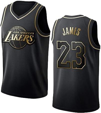 Jersey De Hombre - Camisetas De Baloncesto NBA Lakers 23 James Chaleco De Camisa De Baloncesto Jersey De Malla Bordado Swingman,A-XL: Amazon.es: Hogar
