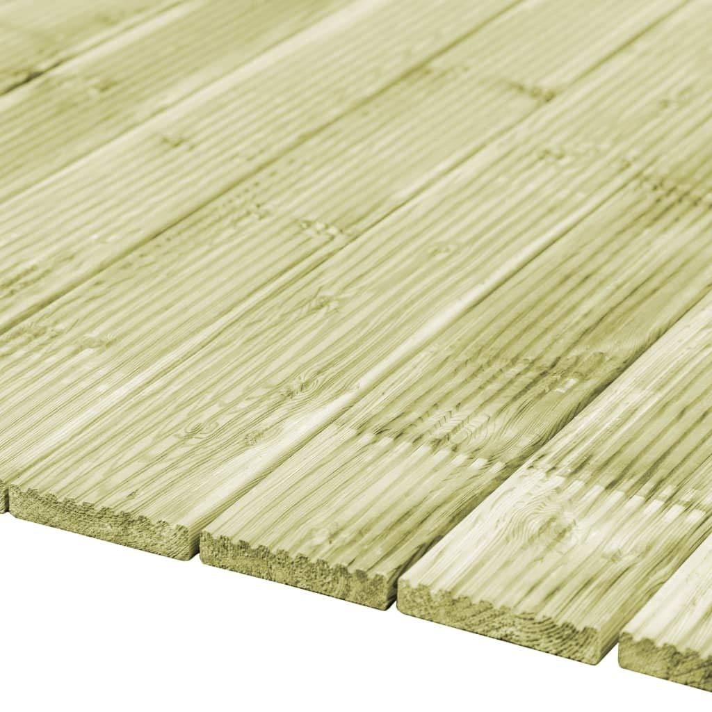 vidaXL 40x Tablas para Plataforma Madera FSC Materiales para Suelos Construcci/ón Bricolaje Suelos y Moquetas Dise/ño R/ústico Duraderas 150x12cm