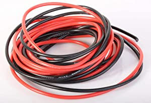 Silicone Wire - Flexible Silicone Wire 16 Gauge Silicone Wire 20 feet - 16 AWG