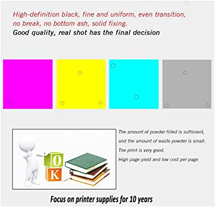Number of Printed Pages Black 6500 Pages Color 3500 Pages each-4colors Compatible with hp Q7560A Q7561A Q7562A Q7563A Printer Color Drum Applicable to 2700//3000//3000NDTN