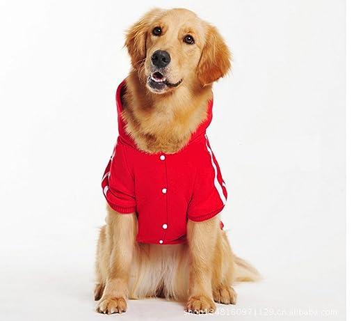 Adidog Felpa con cappuccio per cane, chiusura a