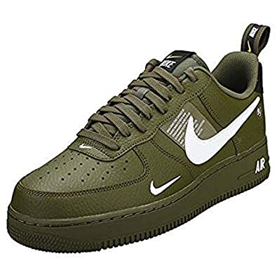 mens yellow nike air force 1 07 lv8 utility trainers | schuh