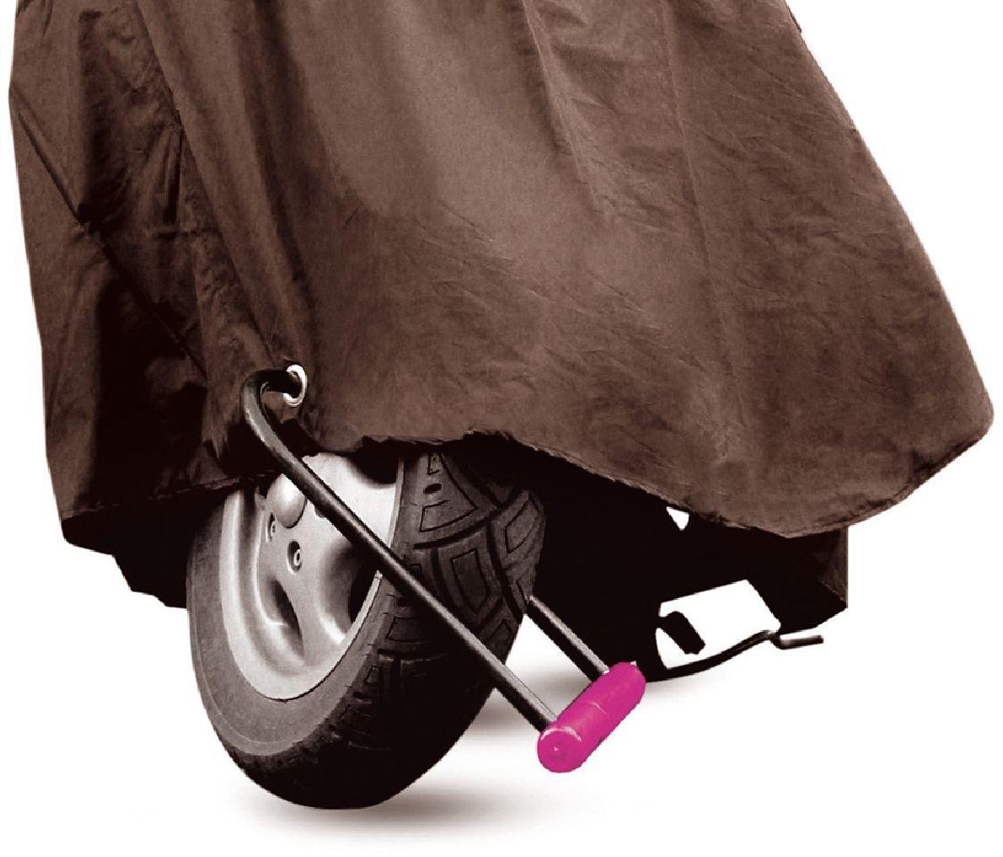 Coprimoto Motorcycle Cover Tucano Urbano Moto Custom Moto Enduro 222MA 222-MA Marrone