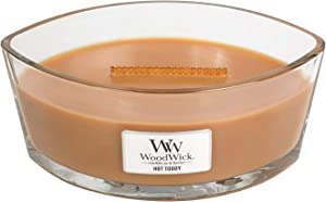 WoodWick Hot Toddy Hearthwick Ellipse Candle, 16 oz.