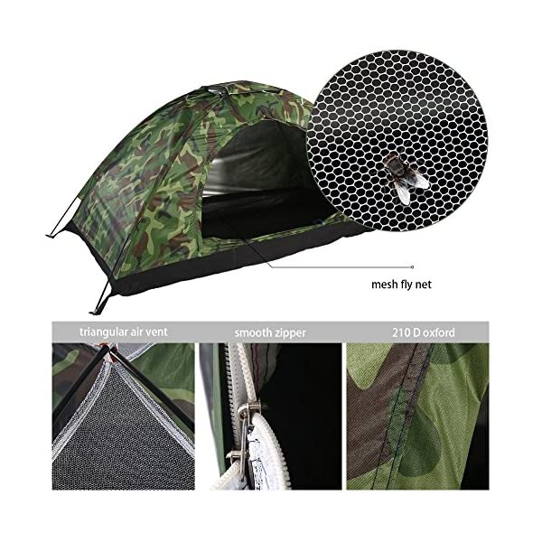 1-4-Person-Camping-Tent-Camouflage-Dome-Tent-Waterproof-Lightweight-Family-Camping-Tents-Outdoor-Tent-4-season-Portable-Tent-with-Carry-Bag-for-Hiking-Travel