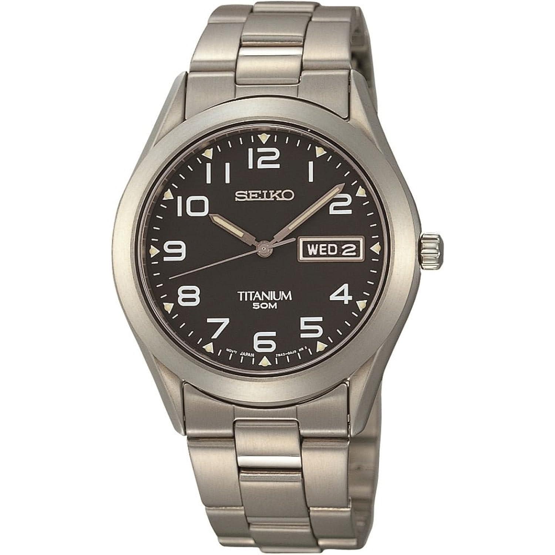 8f842afb9e59 Seiko SGG711P9 Mens Titanium Watch