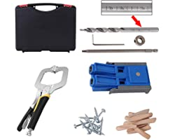 Workmates Spliceable Pocket Hole Jig/Pocket Hole Jig kit system with 9 inch clamp