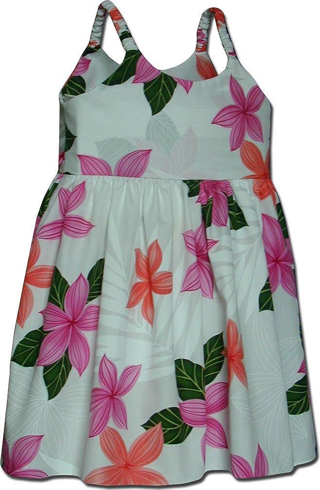 Amazon.com: Kids Hawaiian Dress Princess Plumeria: Clothing