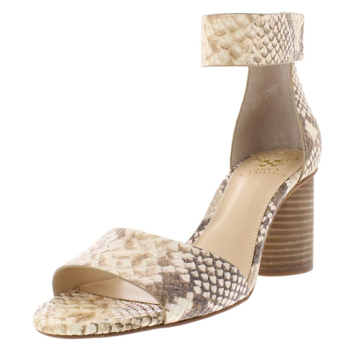 Desert Sand Vince Camuto Women's Jacon Leather W Ankle-High Leather Pump