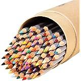 Ohuhu® 72-colore Matite Colorate per Pittura Disegno Ottima Qualità / Matite Multicolori per Artista Schizzo, Set di 72 Colori Assortiti, Confezione Protettiva in Cilindro