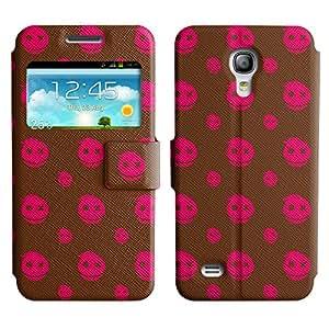 LEOCASE Monstruo Sonriente Funda Carcasa Cuero Tapa Case Para Samsung Galaxy S4 Mini I9190 No.1000980