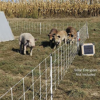 Premier Pig QuikFence Electric Netting, White, 6/30/12 (30